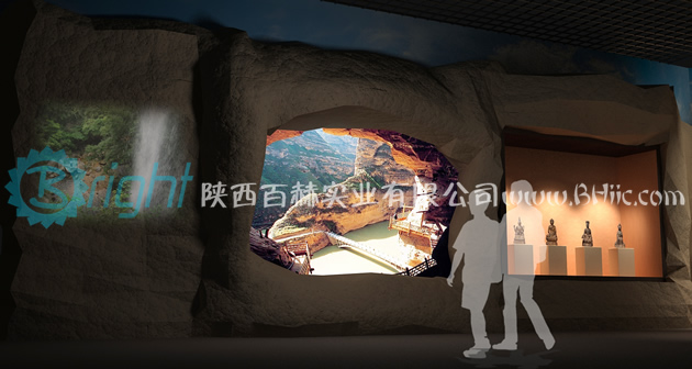 武山博物馆陈列布展设计